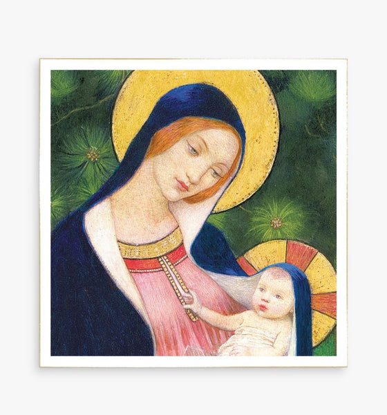 'Madonna and Child' Luxury Boxed Christmas Cards - 8 Pack