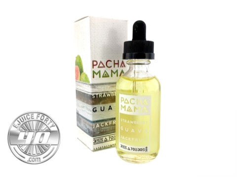 Strawberry Guava Jackfruit 60mL by PACHAMAMA E Liquid
