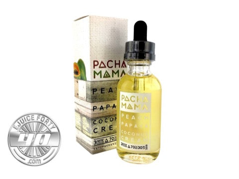 Peach Papaya Coconut Cream 60mL by PACHAMAMA E Liquid