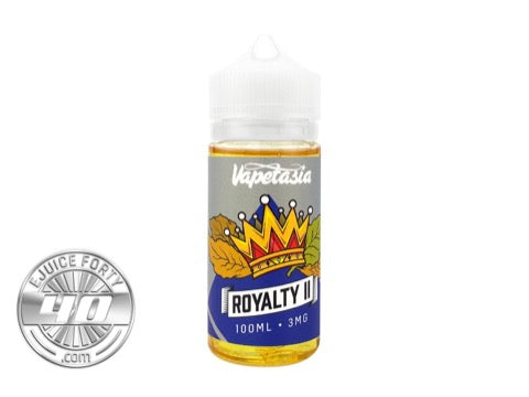 Royalty II 100mL E-Liquid by Vapetasia