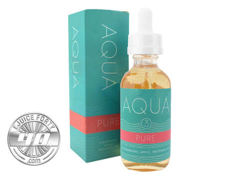 Pure Ice E Liquid by Aqua E Juice 60mL