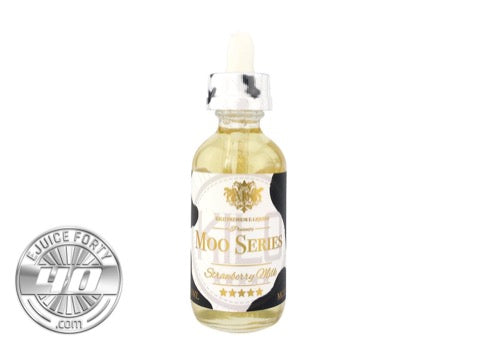 Strawberry Milk 60mL E Liquid by KILO Moo Series