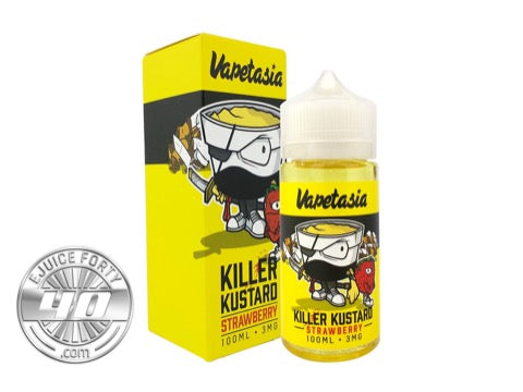 Killer Kustard 100mL E Liquid by Vapetasia