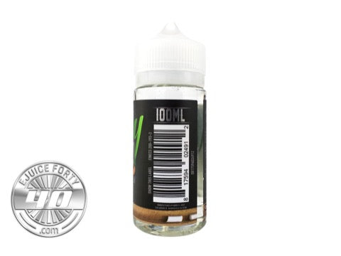 Green Apple Peach by Nerdy E Liquid 60mL