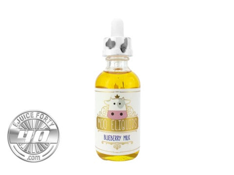 Blueberry Milk 60mL E Liquid by MOO E Liquids