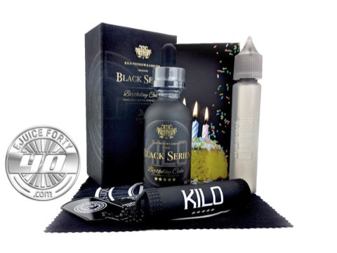 Birthday Cake E Juice by Kilo Black Series E Liquid 60mL