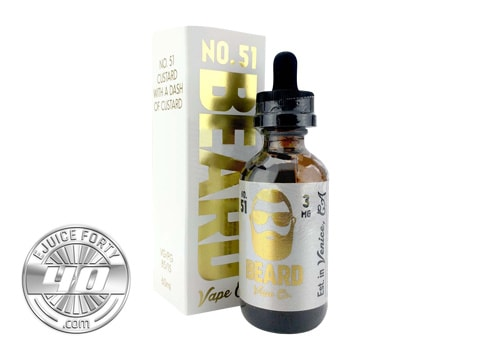 No. 51 E Liquid by Beard Vape Co. 60mL