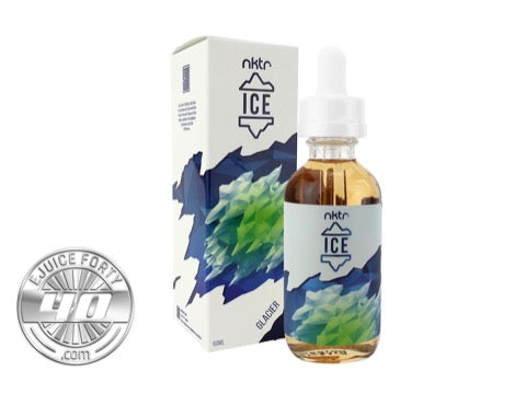 Glacier E Liquid by NKTR ICE 60mL