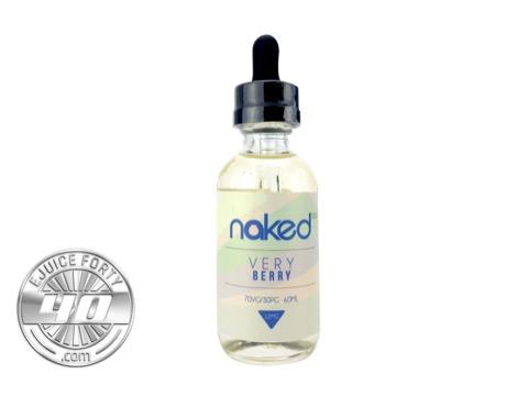 Azul Berries 120ml E Liquid by Naked 100 Cream (Bundle)