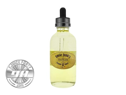 Pink Meadow E Liquid Uncle Junk's Genius E-Liquid 120mL