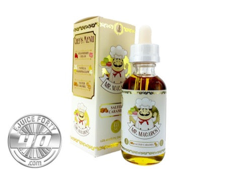 Salted Caramel E Liquid by Mila's Macarons 60mL