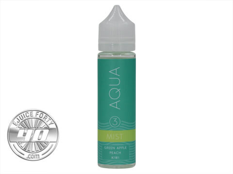 Mist Ice E-Liquid by Aqua E-Juice 120mL