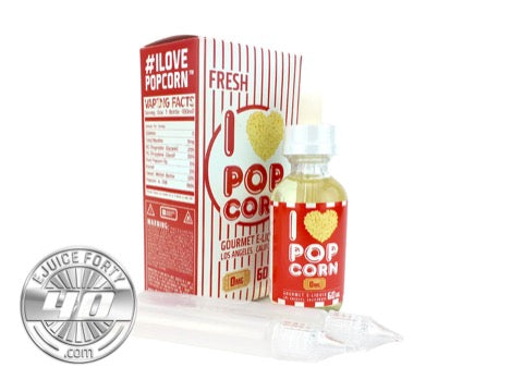 I Love Popcorn E Liquid by Mad Hatter Juice 60mL
