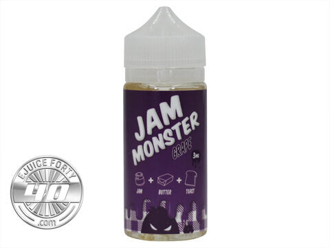 Grape E-Liquid by Jam Monster Liquids 100ml