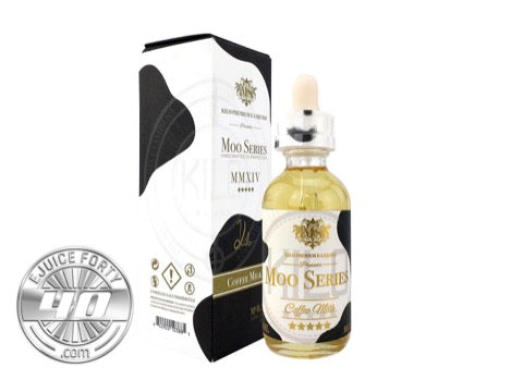 Coffee Milk 60mL E Liquid by KILO Moo Series