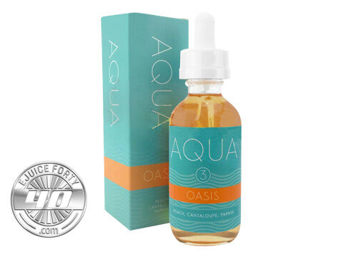 Oasis Ice E Liquid by Aqua E Juice 60mL