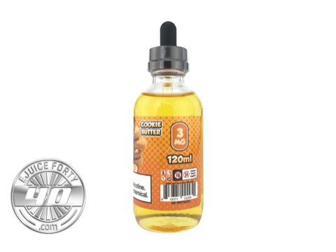 Cookie Butter E-Juice by Loaded E-Liquid 120mL