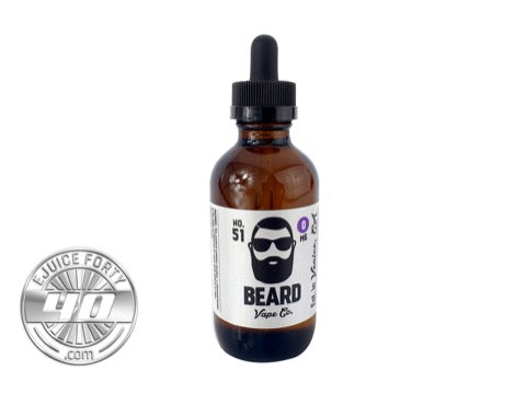 No. 51 120mL E Liquid by Beard Vape Co.