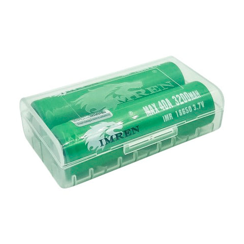 IMREN 18650 3200 mAh 40A Battery - Green