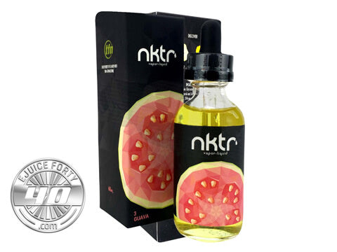 Guava E Liquid by NKTR 60ml