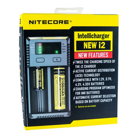 The Nitecore i2 Charger