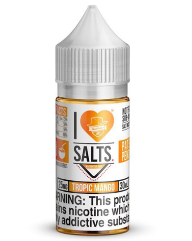 Tropical Mango - I Love Salts 30ml