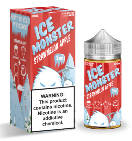STRAWMELON APPLE BY ICE MONSTER 200ML (Bundle)