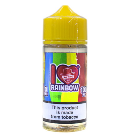 I Love Candy Rainbow E-Liquid by Mad Hatter Juice 100ml