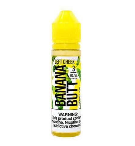 Left Cheek E Juice by Banana Butt E Liquid 60ml