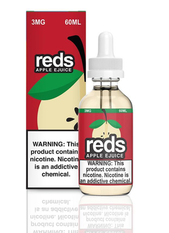 Red's Apple E Juice by 7 Daze 120ml (Bundle)