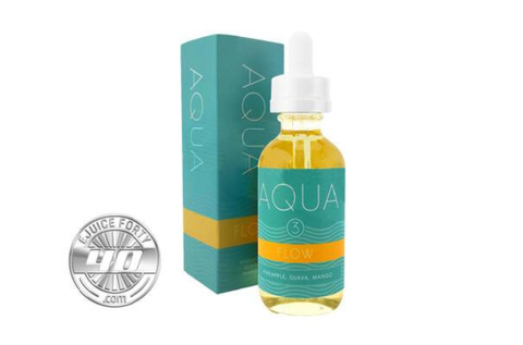Flow E Liquid by Aqua E Juice 120ml (Bundle)