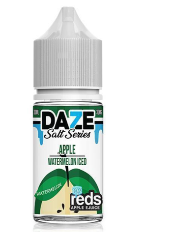 Watermelon Iced Reds Apple - 7 Daze Salt 30ml