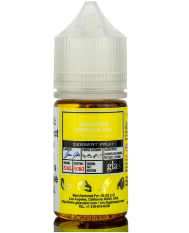 Banana Cream Pie - Glas Basix Nic Salts 30ml