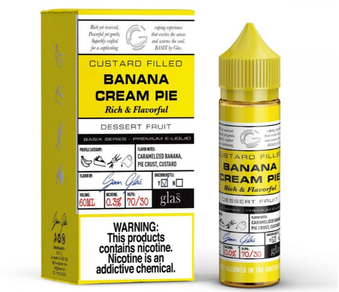 Banana Cream Pie - Glas Basix 60ml