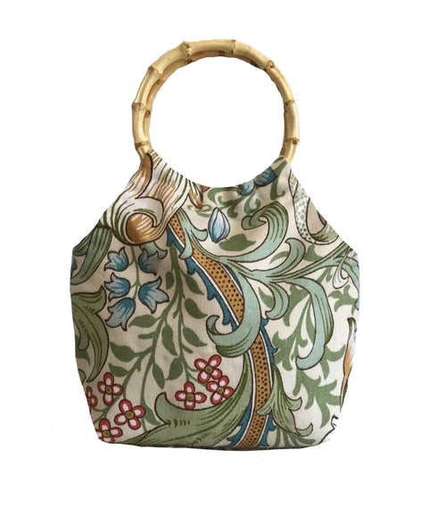 Bag made from William Morris, Golden Lilly Cotton or Vintage Linen by Sanderson