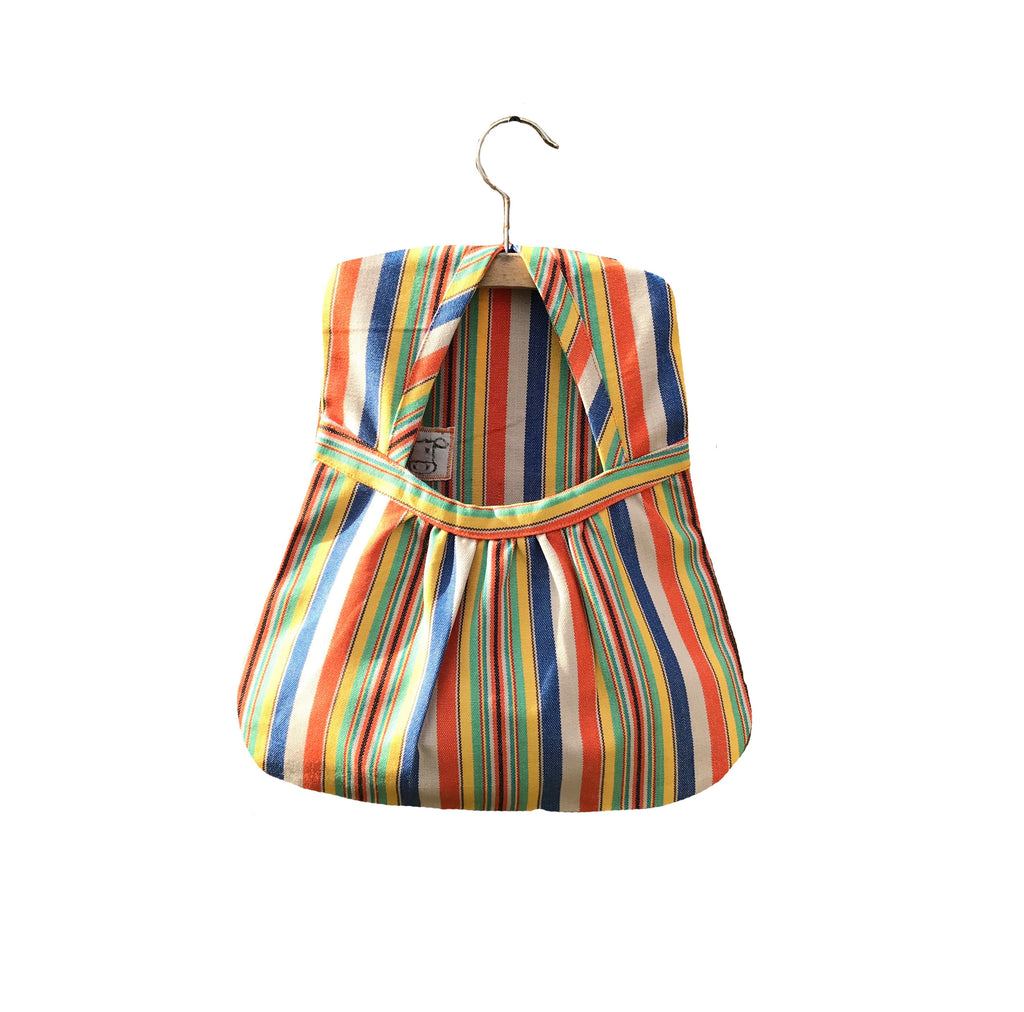 Striped Cotton Pegs Bags