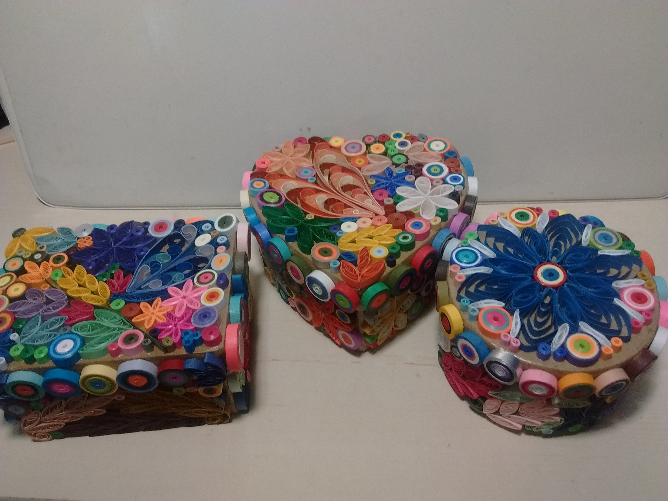 Assorted Colored Boxes