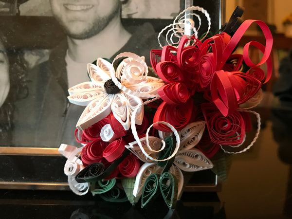 Quilled Corsage