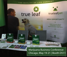 True Leaf Unveils First Product at the Marijuana Business Conference Expo in Chicago.