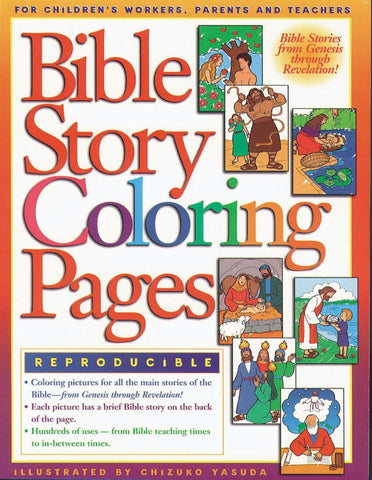 Bible Story Coloring Pages #1 - Gospel Light