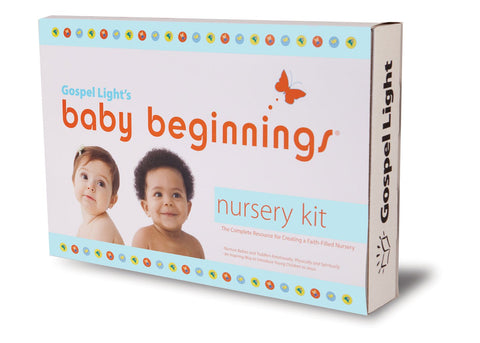 Baby Beginnings Nursery Kit - 2 Year complete course -Ages 0-36 months