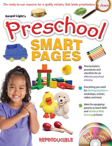 Preschool Ministry Smart Pages