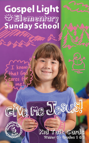 Gospel Light Elementary Kid Talk Cards Grades 1&2 | Winter Year C