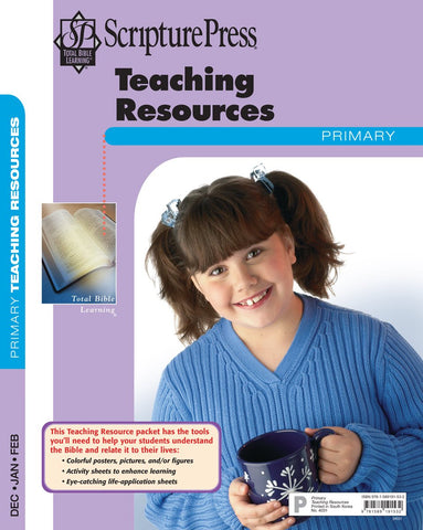 Scripture Press Primary Teaching Resources | Winter 2017-2018
