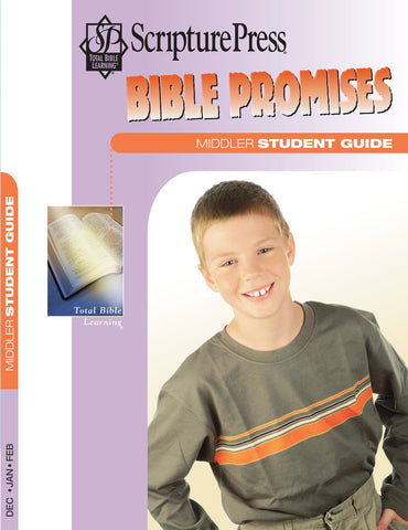 Scripture Press Middler Bible Promises Student Guide | Winter 2017-2018