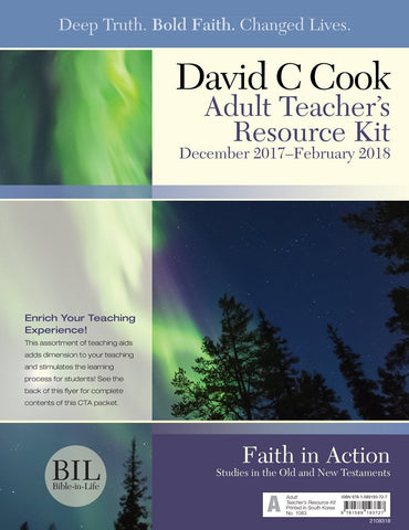 Bible-In-Life Adult Teacher's Resource Kit | Winter 2017-2018