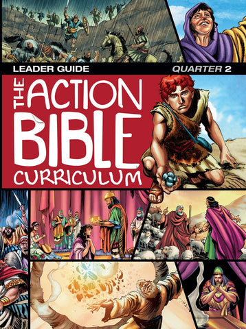 Action Bible Curriculum Leaders Guide - Print Quarter 2