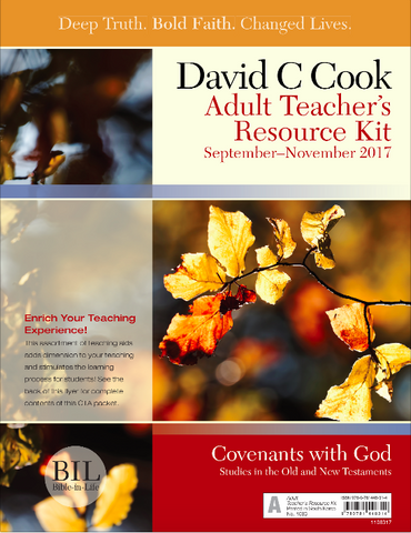 Bible-In-Life - Adult Teacher Resource Kit - Fall 2017