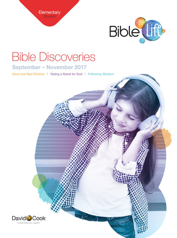 Bible-in-Life - Elementary Bible Discoveries Student Book - Fall 2017