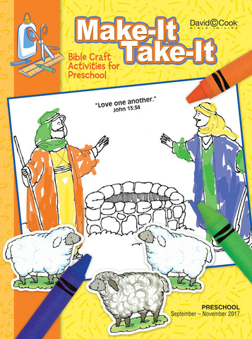Bible-in-Life - Preschool Make-It/Take-It - Fall 2017